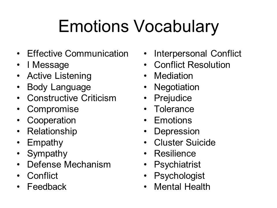 Emotions Ppt Video Online Download