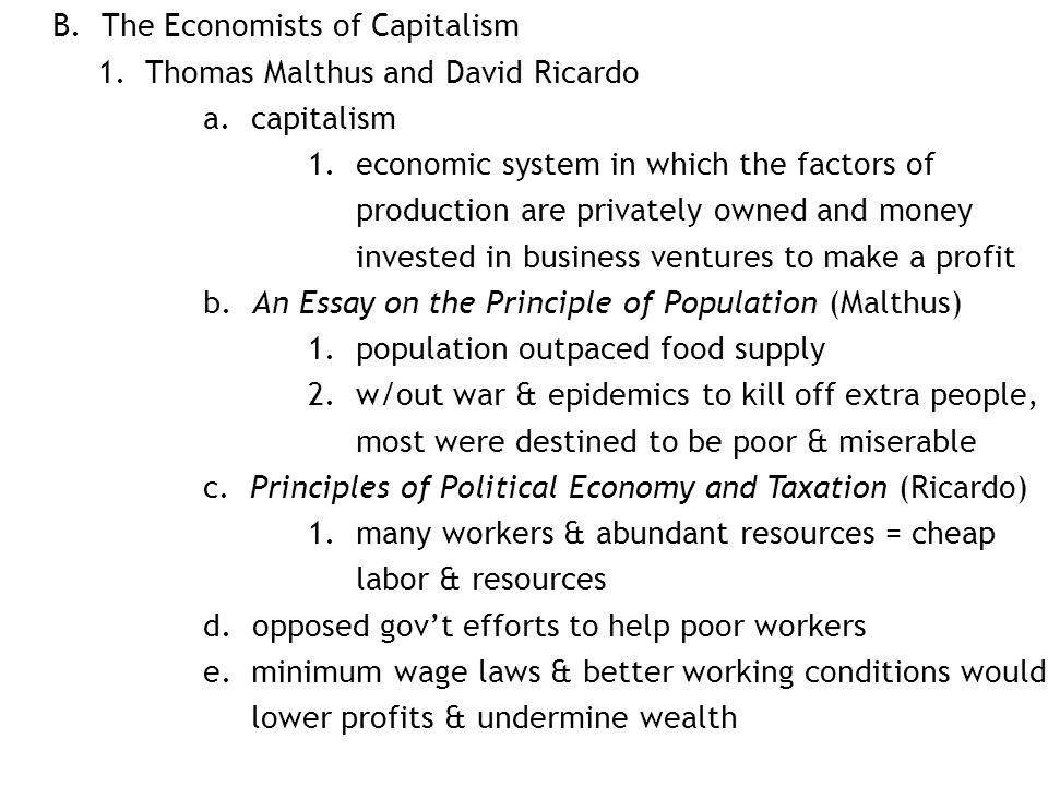 capitalism a superior economic system essay Capitalism as an economic system/managerial accounting  question 1 025/ 025 points _____ were granted by the british government to allow several people to create organizations by pooling financial resources, which enabled riskier business projects to be undertaken.