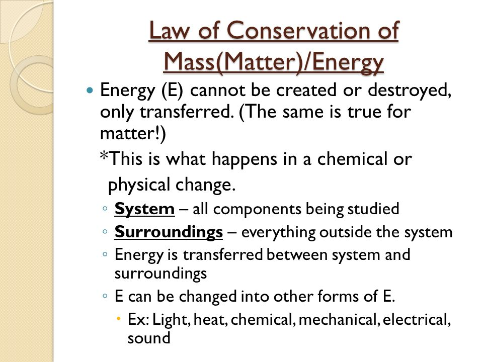 Chapter 2 Matter And Energy Ppt Video Online Download