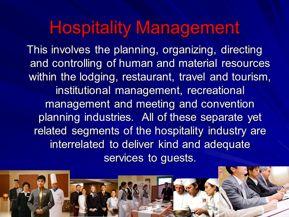 Hospitality Derived From The Latin Word Hospitare Meaning To