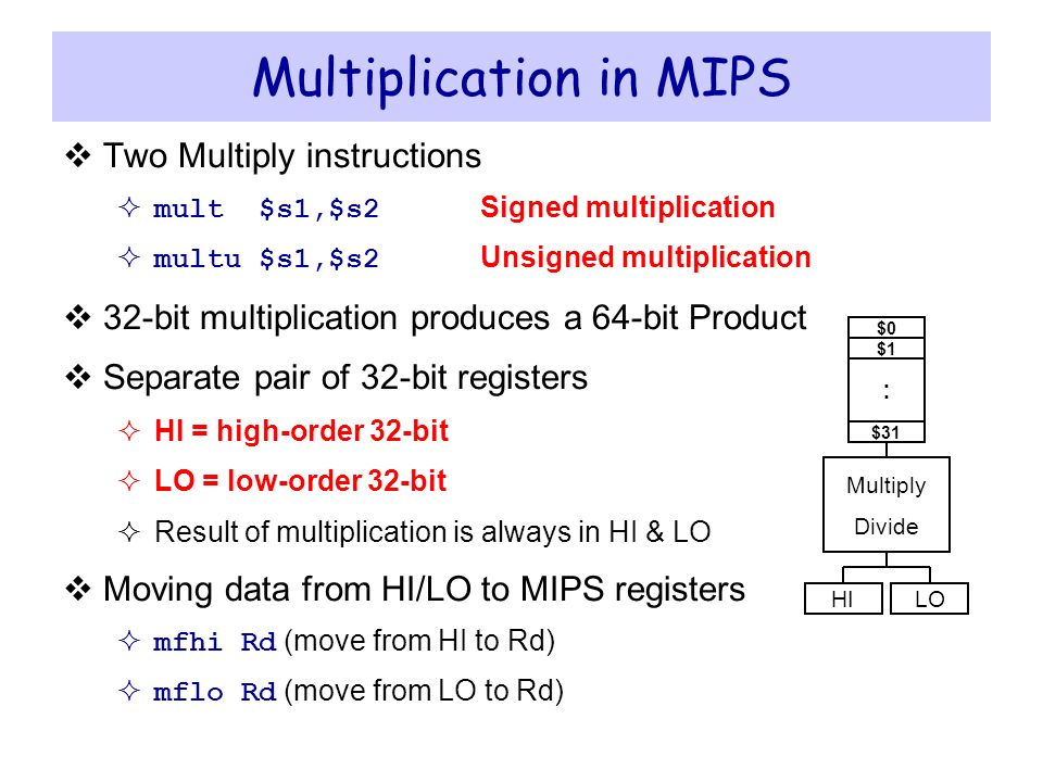 Integer Multiplication and Division - ppt video online download