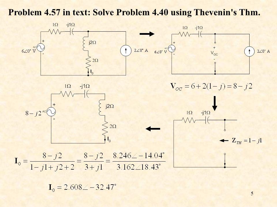 thevenin example problems