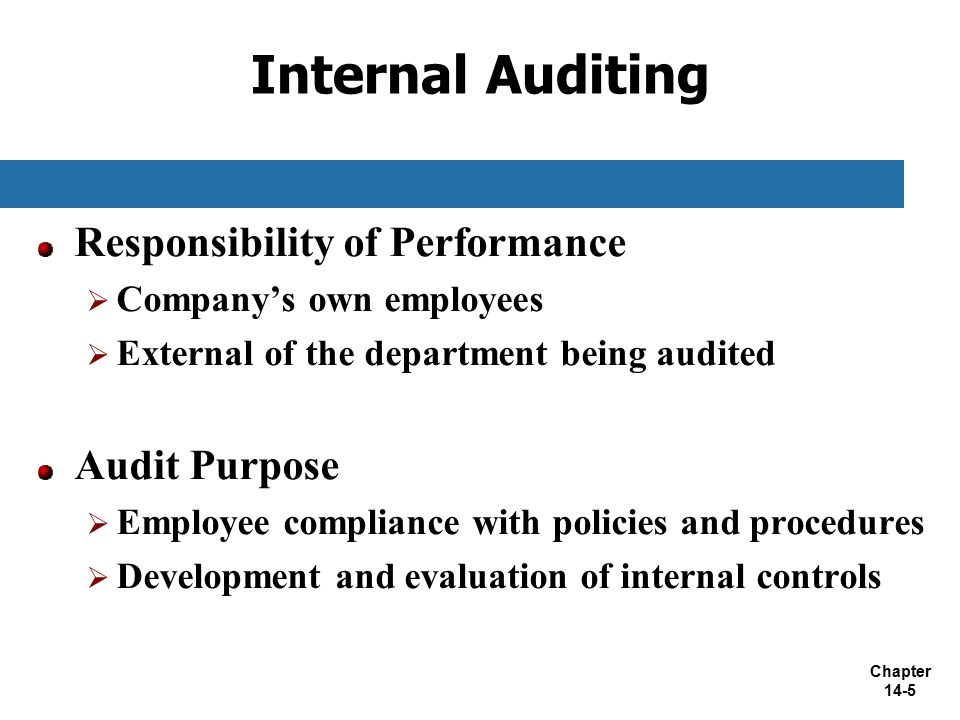 Chapter 14: Information Technology Auditing - ppt download