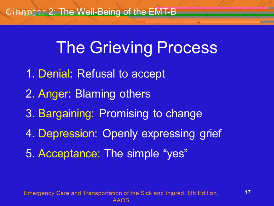 The Well Being Of The EMT B Ppt Video Online Download