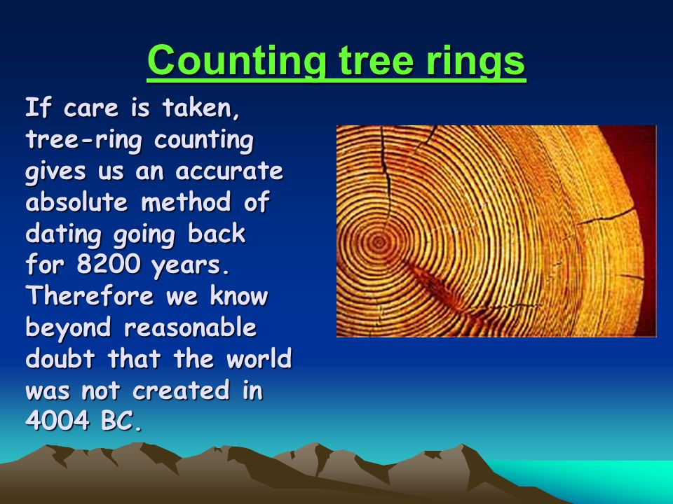 Tree ring dating creation coloring