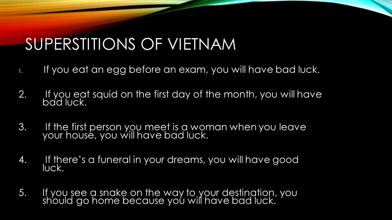 Vietnam by jeremy vyskocil ppt download superstitions of vietnam reheart Choice Image