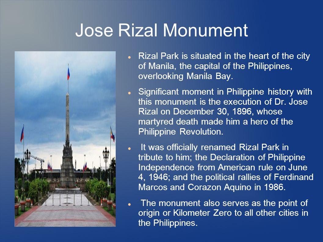 rizal park history