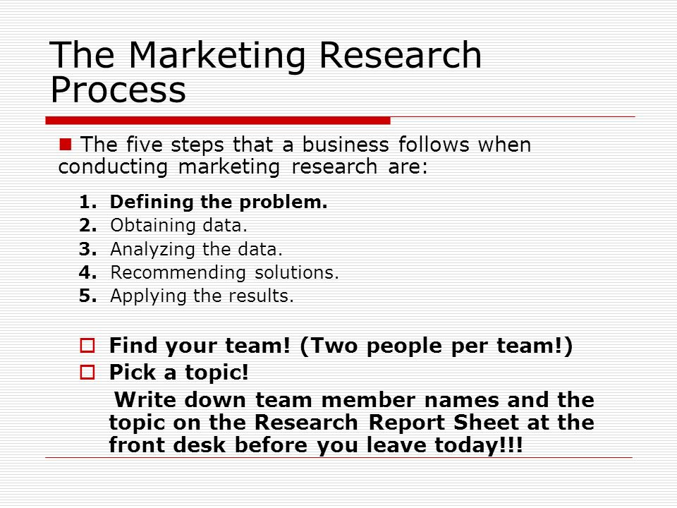 market research topics for students