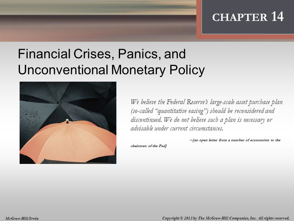 role of monetary policy in financial crisis The international monetary fund (imf) played a ground-breaking role in understanding the financial-sector dynamics of the euro-area crisis it was the first public authority, and one of the first more generally, to acknowledge the role of the bank-sovereign vicious circle as the central driver of contagion in the euro area.