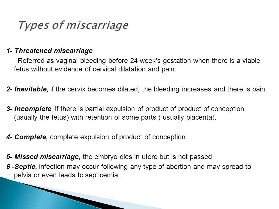 Miscarriage Early pregnancy loss - ppt video online download