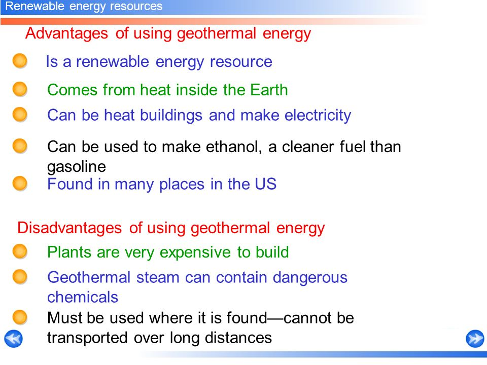 the benefits and limitations of geothermal energy The expense of heating and cooling with geothermal energy varies by model and capacity of the pump for 2016 energy star certified pumps, the national average annual cost to run ranges from just under $100 to less than $600.
