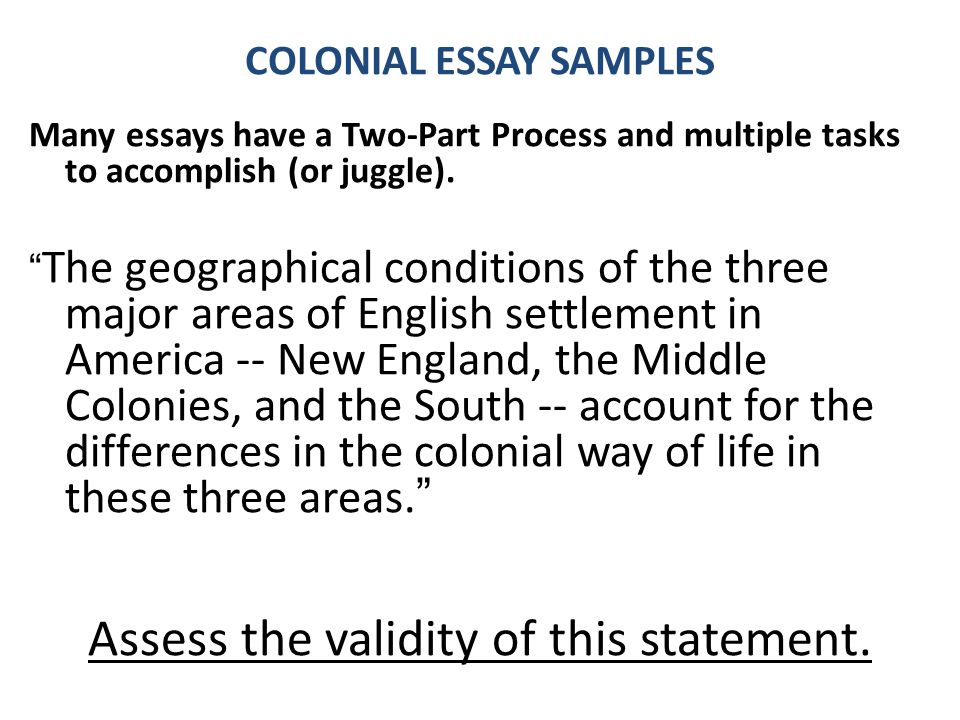 Thesis Statement In Essay Colonial Essay Samples Healthcare Essay Topics also Essay On Health Care Essay Writing Free Response And Dbq  Ppt Video Online Download Yellow Wallpaper Analysis Essay