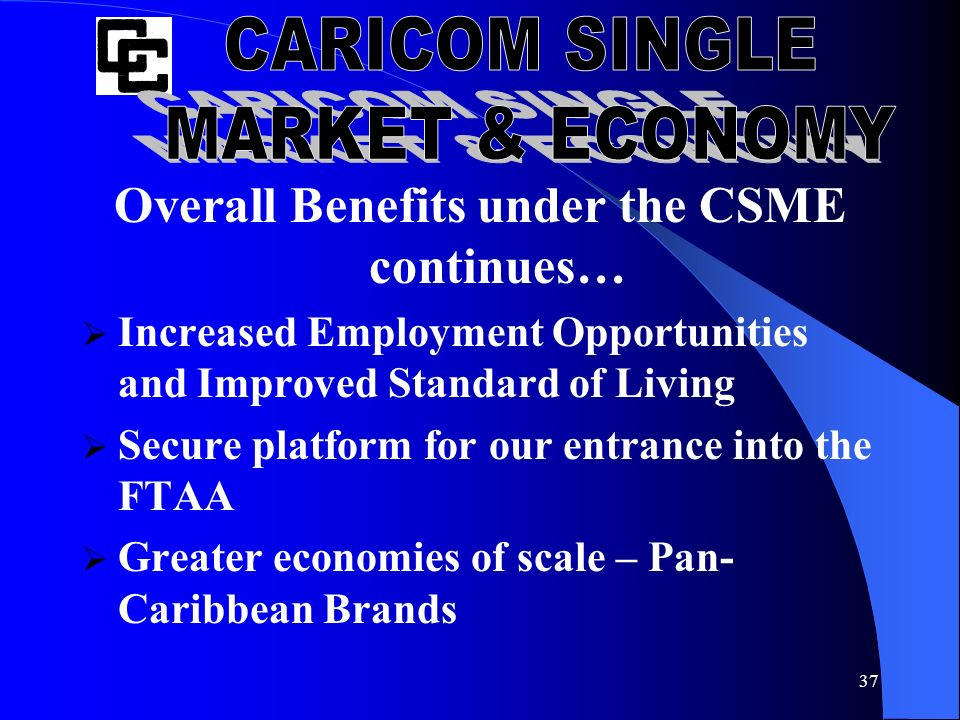 benefits of csme on caribbean economies