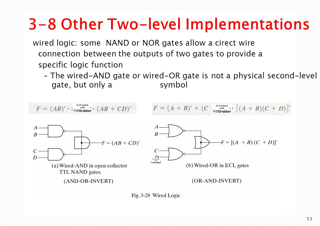Gate Level Minimization Ppt Video Online Download And Logic In An Output C Is Produced Only If The Two 3 8 Other Implementations