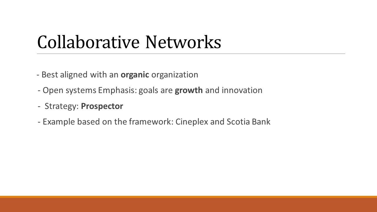 organic organization example