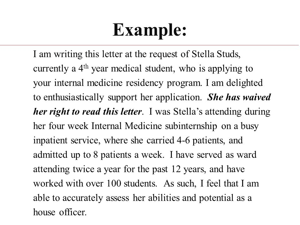 How To Write A Letter Of Recommendation Ppt Video Online Download