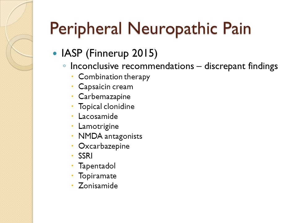 clonidine patch for neuropathic pain