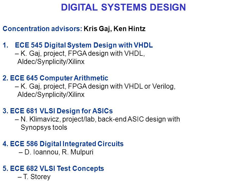 ECE 545 Digital System Design with VHDL - ppt download
