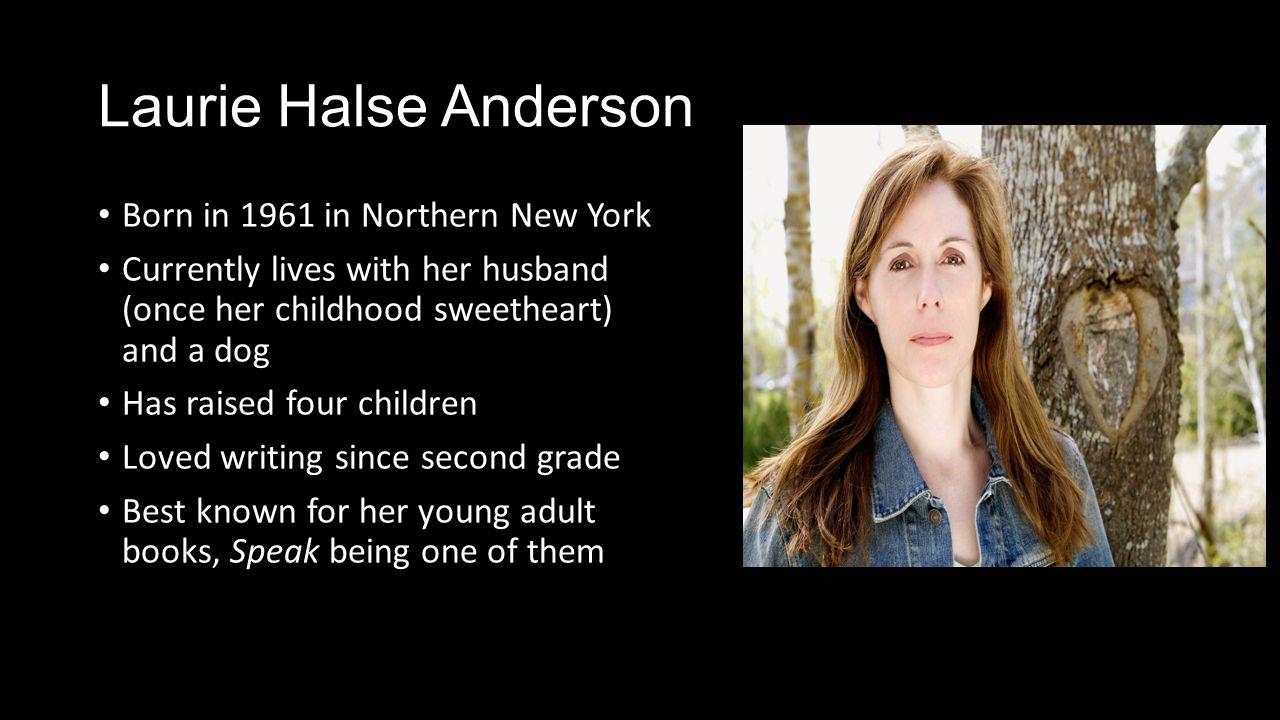 Speak Laurie Halse Anderson  - ppt video online download