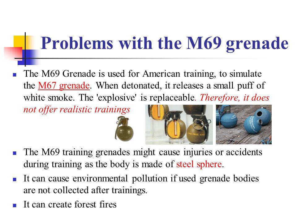 Non-Metallic Training Hand Grenade (Environmentally Friendly