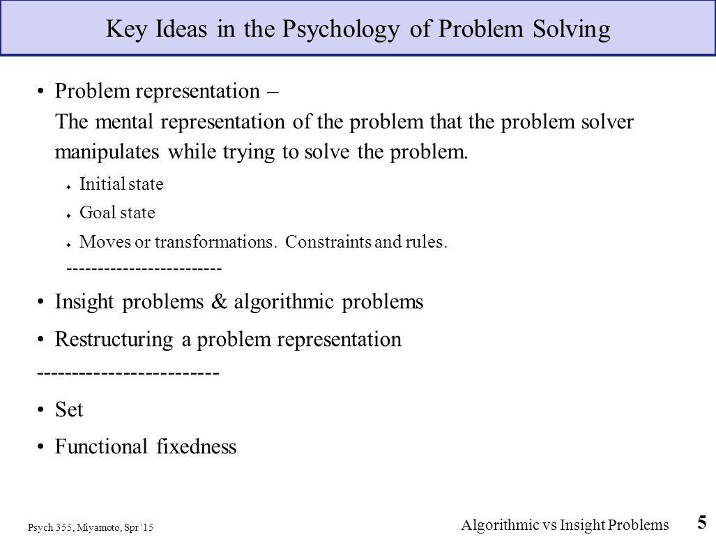 psychology problem solving