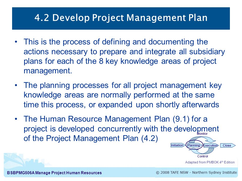 human resource management planning process