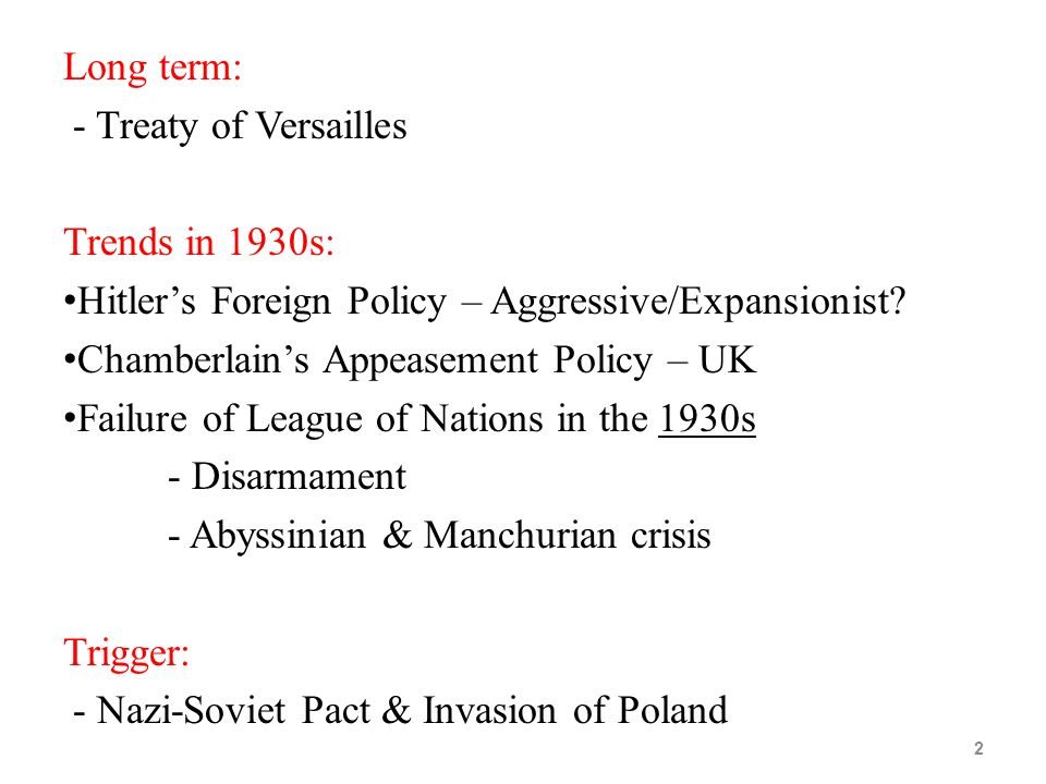 Causes of WW2 Road to WW2  - ppt video online download