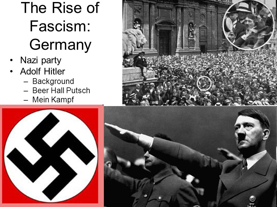rise of fascism in germany
