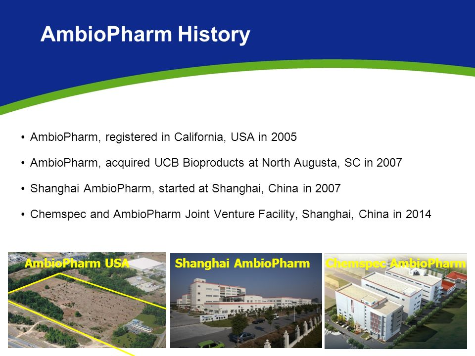 AMBIOPHARM, Inc  Peptide API Manufacturing and Services - ppt video