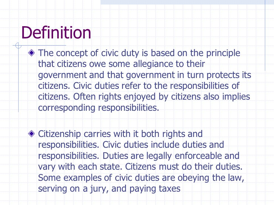 Duties And Responsibilities Of Us Citizens Bell Ringer Ppt Video