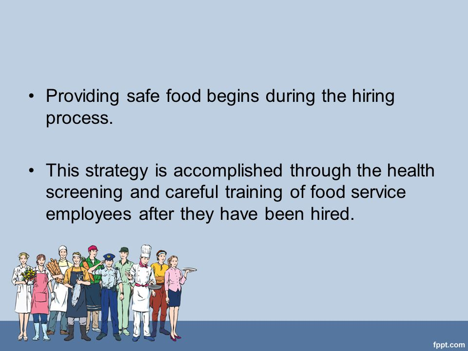 Employee Health and Personal Hygiene - ppt video online download