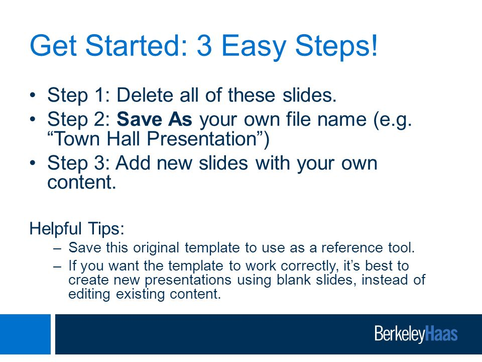 Berkeley Haas Powerpoint Presentation Template Ppt Video Online
