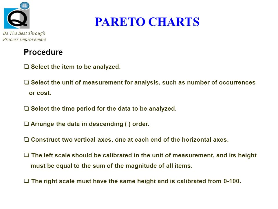 Check sheets be the best through process improvement what it is 8 pareto charts procedure ccuart Images