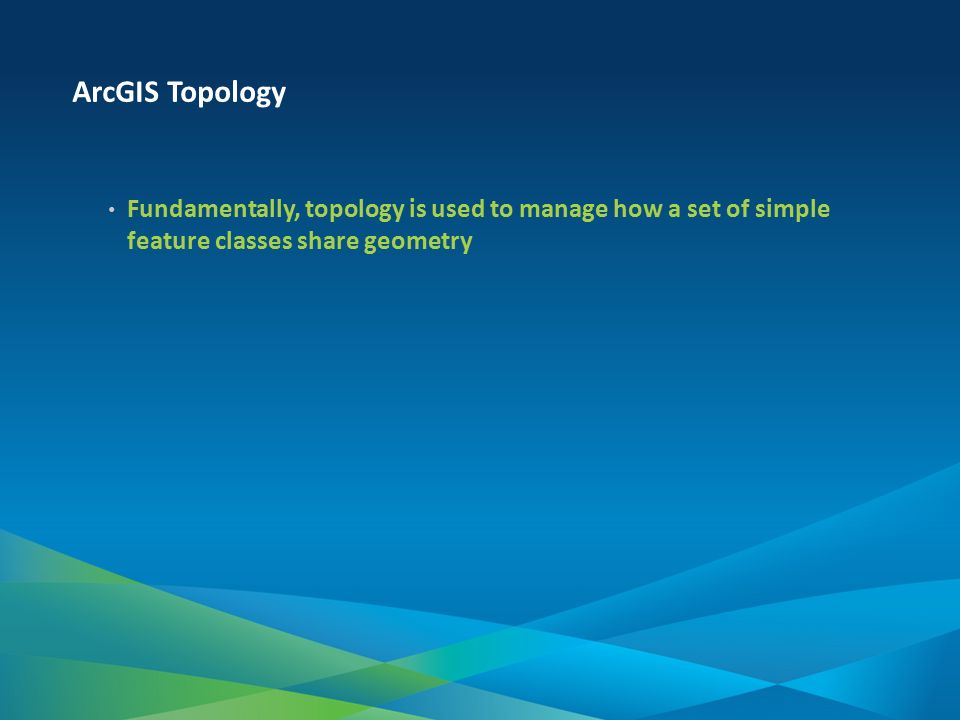Topology in the Geodatabase – an Introduction - ppt video online
