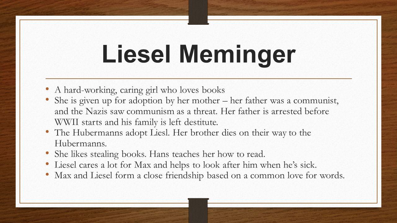 liesel meminger personality traits