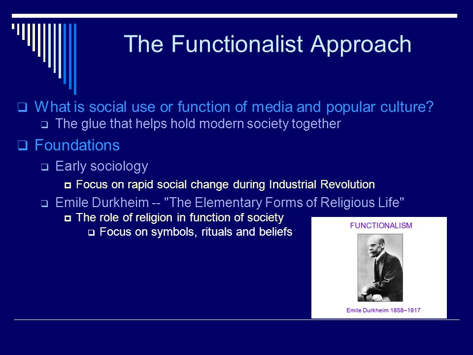functionalist approach to religion
