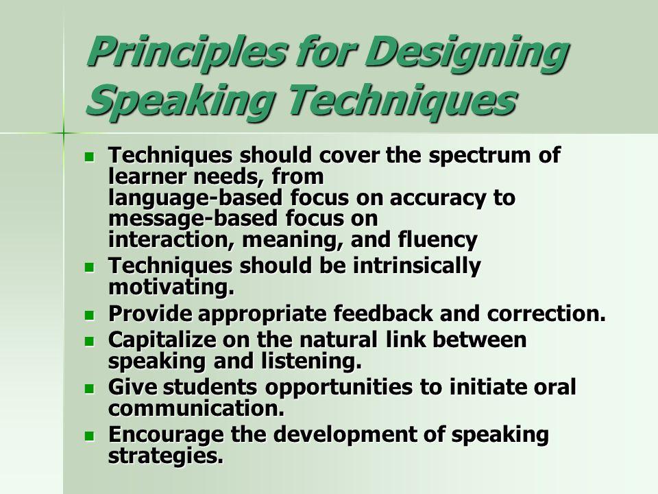 Teaching Speaking Skills - ppt video online download