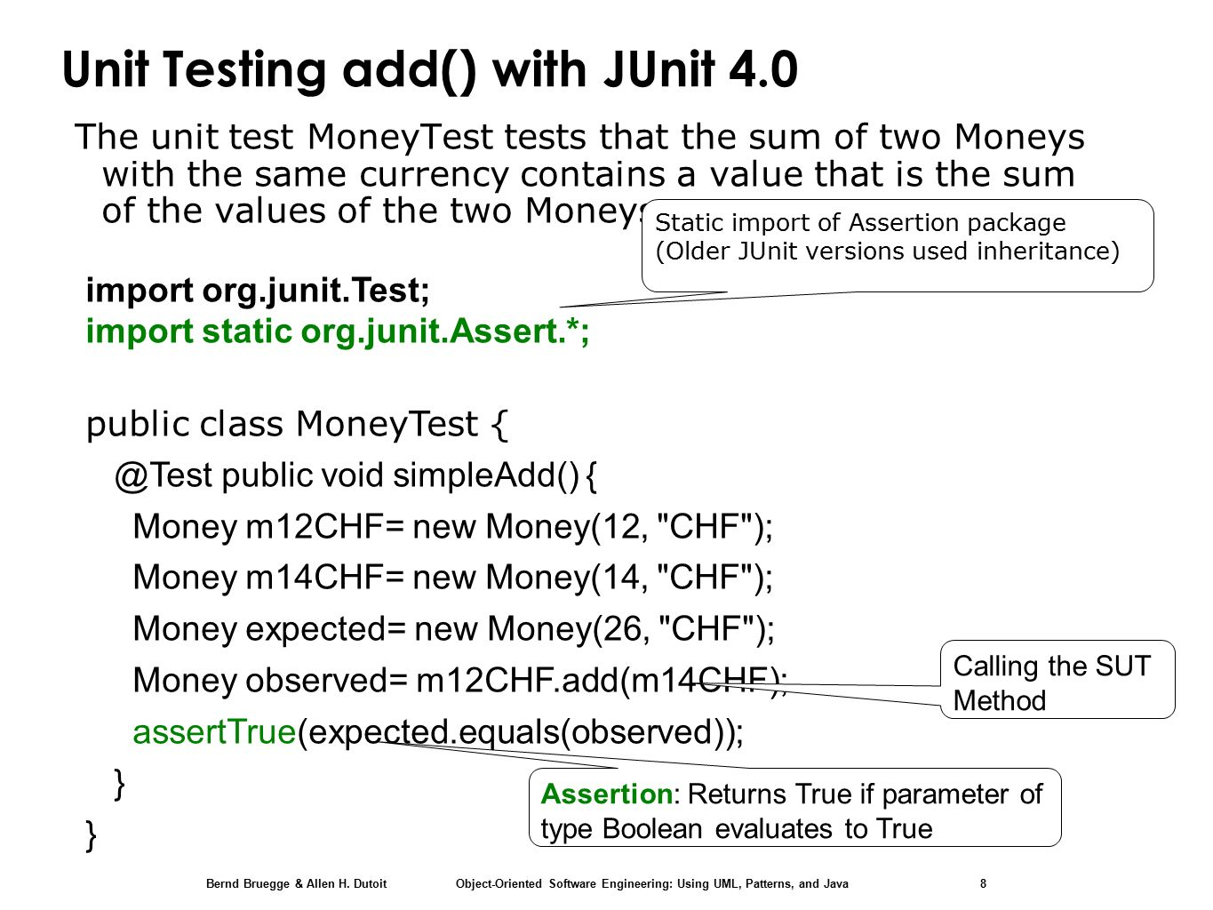Chapter 11, Testing: Unit Testing with JUnit 4 - ppt download