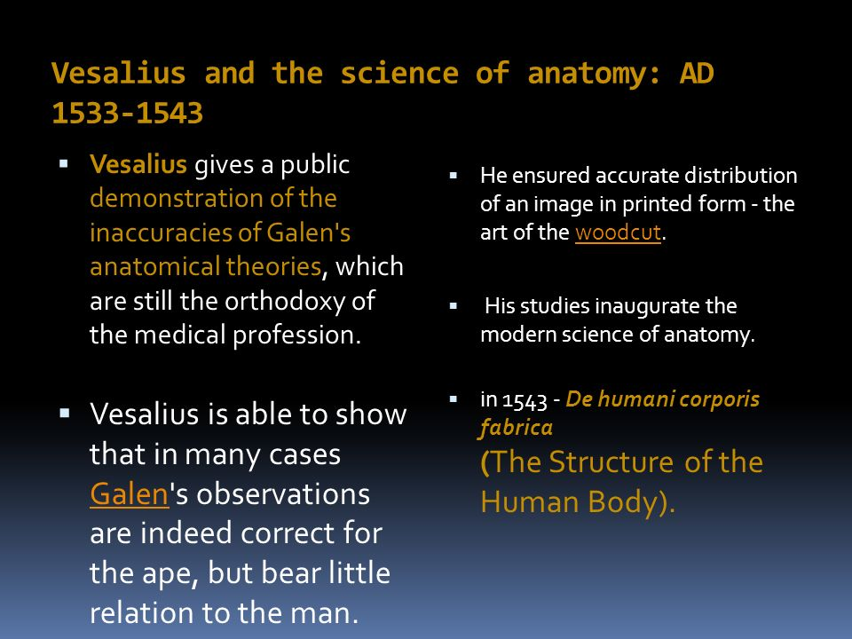 History And Branches Of Anatomy Ppt Video Online Download