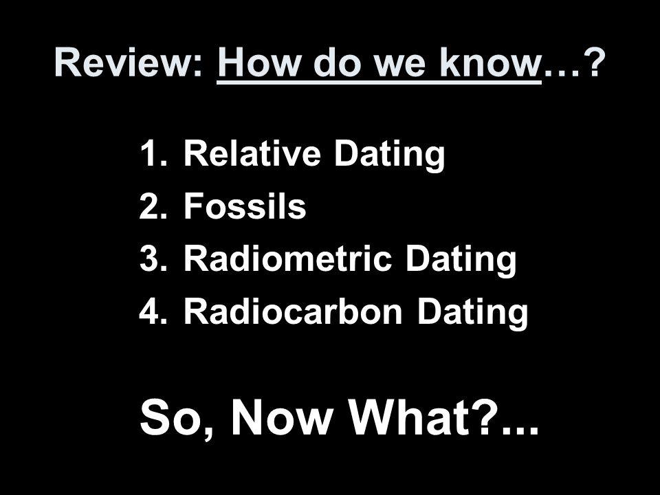 Relatieve dating geologic evenementen