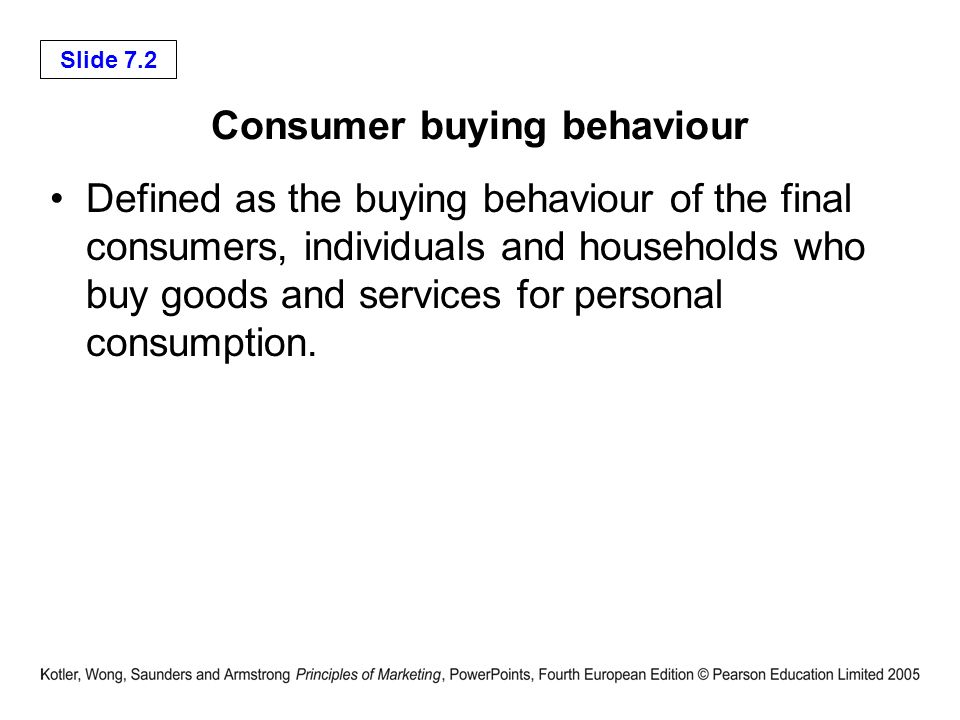 Consumer Markets Chapter 7 Ppt Video Online Download
