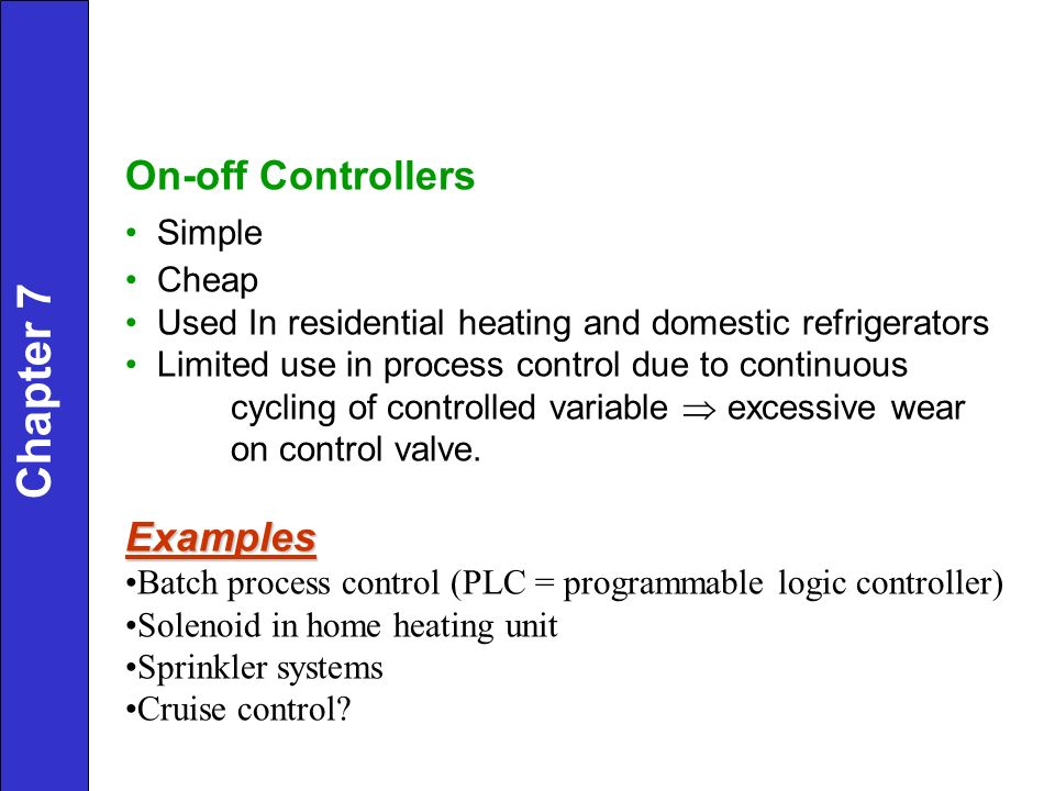 Feedback Controllers Chapter ppt video online download