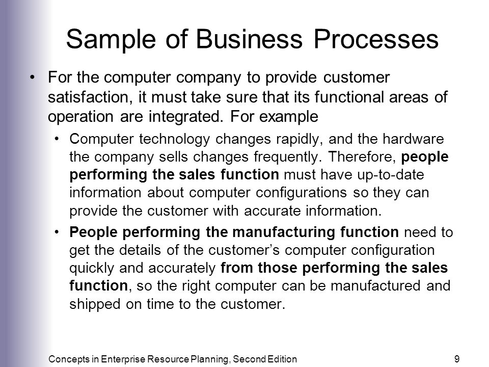 Business Functions, Processes, and Data Requirements - ppt video