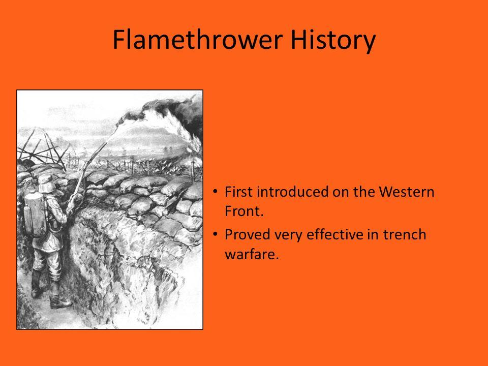 Flamethrowers of WWI Tyler Jones  - ppt video online download