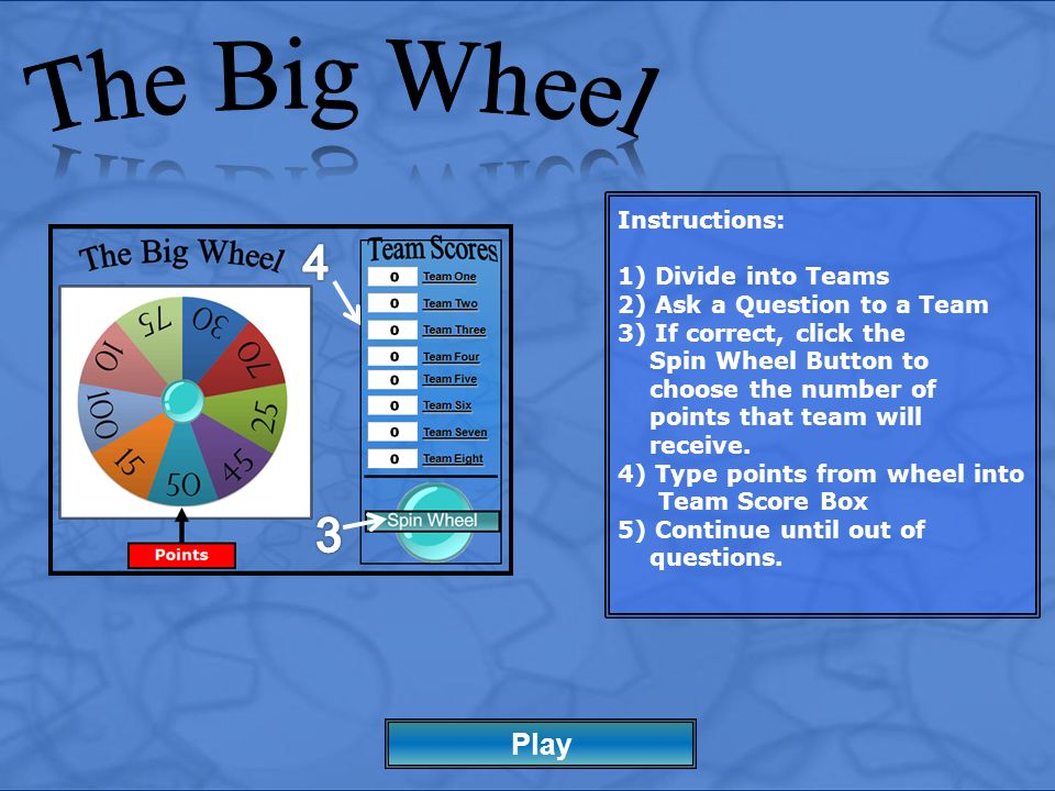 The Big Wheel Play Ppt Video Online Download