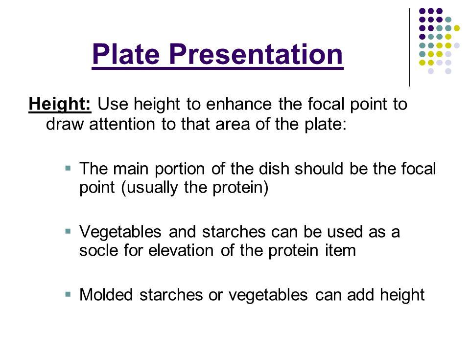Plate Presentation  - ppt video online download