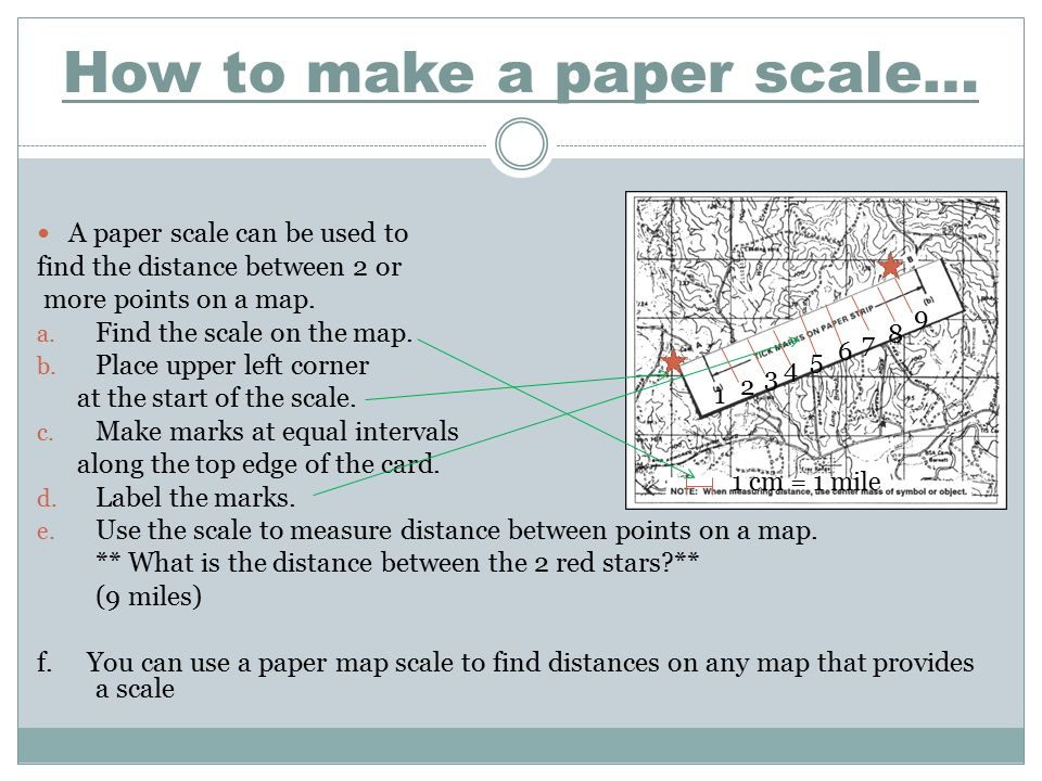 Map Scale Warmup Questions What Is Map ScaleDOK Ppt Video - Make points on a map
