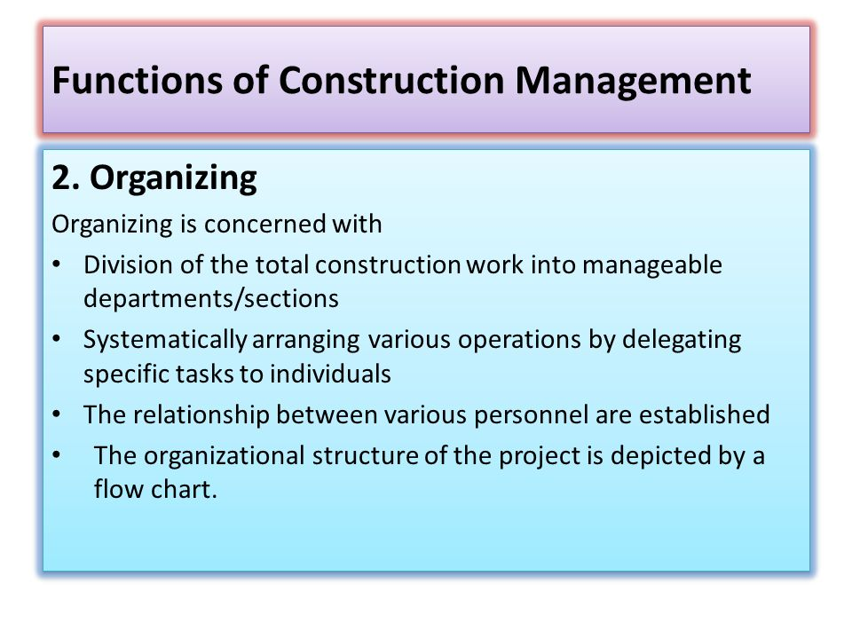 Construction Management And Administration Ppt Video Online Download
