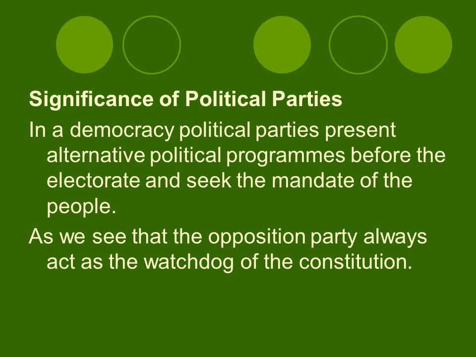 present political system in india