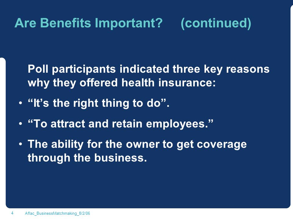 Benefits of business matchmaking